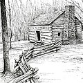John Ownby Cabin by Bob  George