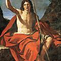 John The Baptist by Guercino