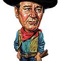 John Wayne by Art