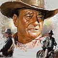 John Wayne by Viola El