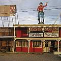 John Wayne Cowboy Museum Tombstone Arizona 2004 by David Lee Guss