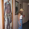 John Wayne Gallery Hondo 1953 Crystal Palace Saloon Helldorado Days Tombstone Arizona 2004 by David Lee Guss