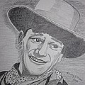 John Wayne by Kathy Marrs Chandler