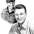 John Wayne by Peter Piatt