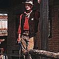 John Wayne Porch Of His Sheriff's Office Rio Bravo  Old Tucson Arizona 1959-2013 by David Lee Guss