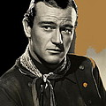 John Wayne Publicity Photo In Costume Stagecoach 1939-2013 by David Lee Guss