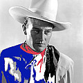 John Wayne Publicity Photo Overland Stage Raiders 1938 by David Lee Guss
