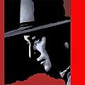 John Wayne Ringo Kid Portrait Stagecoach 1939-2013 by David Lee Guss