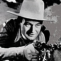 John Wayne Two-fisted Law  1932 Publicity Photo by David Lee Guss