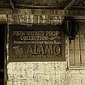 John Wayne's Prop Collection The Alamo Old Tucson Arizona 1967-2009 by David Lee Guss