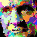 Johnny Cash - Abstarct by Samuel Majcen