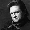 Johnny Cash Close-up The Man Comes Around Music Homage Old Tucson Az  by David Lee Guss