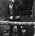 Johnny Cash Gunslinger Hitching Post Old Tucson Arizona 1971  by David Lee Guss