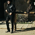 Johnny Cash Horse Old Tucson Arizona 1971 by David Lee Guss