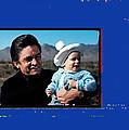 Johnny Cash John Carter Cash Old Tucson Arizona 1971 by David Lee Guss