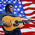 Johnny Cash by John Lautermilch