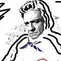 Johnny Cash Man In White Literary Homage Old Tucson Arizona 1971-2008 by David Lee Guss