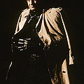 Johnny Cash Trench Coat  Sepia Variation Old Tucson Arizona 1971 by David Lee Guss