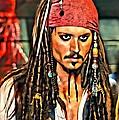 Johnny Depp As Jack Sparrow by Florian Rodarte