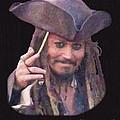 Johnny Depp by Charles Thayer