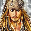 Johnny Depp Jack Sparrow Actor by Georgi Dimitrov