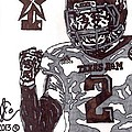 Johnny Manziel 9 by Jeremiah Colley