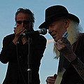 Johnny Winter And James Montgomery Playing The Blues by Mike Martin