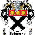 Johnston Coat Of Arms Irish by Heraldry