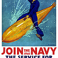Join The Navy The Service For Fighting Men  by War Is Hell Store