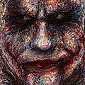 Joker - Face I by Rachel Scott