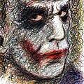 Joker - Pout by Rachel Scott