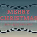 Jolly Christmas Greeting Card by Florian Rodarte