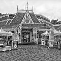 Jolly Holiday Cafe Main Street Disneyland Bw by Thomas Woolworth