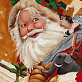 Jolly Santa by Portraits By NC