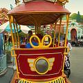 Jolly Trolley Disneyland Toon Town by Thomas Woolworth