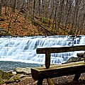 Jones Mill Run Dam Relaxing View by Jake Donaldson