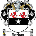 Jordan Coat Of Arms Dublin  by Heraldry