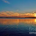 Jordan Lake Sunset 2 by Kelly Nowak