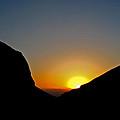 Jordan Sunset by Steve Lipson