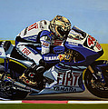 Jorge Lorenzo by Paul Meijering