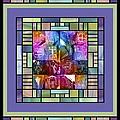 Jornada Mogollon Kaleidoscope by Kurt Van Wagner