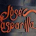 Jose Gasparilla Name Plate Color by David Lee Thompson