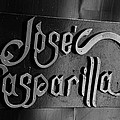 Jose Gasparilla Name Plate by David Lee Thompson