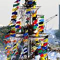 Jose Gasparilla Ship Work A by David Lee Thompson