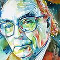 Jose Saramago Portrait by Fabrizio Cassetta