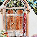Josefina's Old Gate by Deb  Harclerode