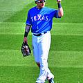 Josh Hamilton 32 Texas Rangers by Tap On Photo