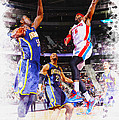 Josh Smith Of The Detroit Pistons by Don Kuing