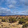 Joshua Tree National Park Indian Cove Rocks by David Zanzinger