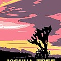 Joshua Tree National Park Vintage Poster by Eric Glaser